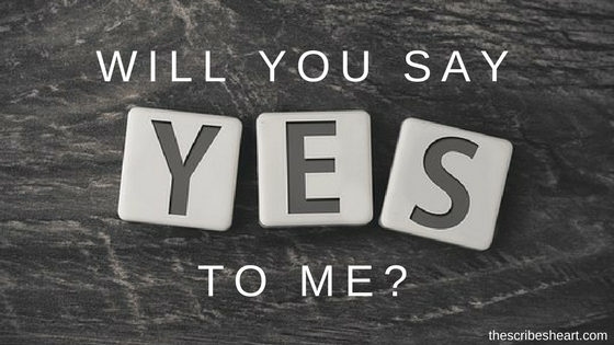 Will You Say Yes to Me?