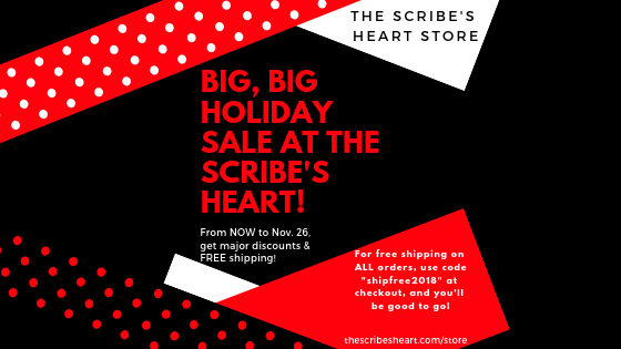 BIG, BIG Holiday Sale!!